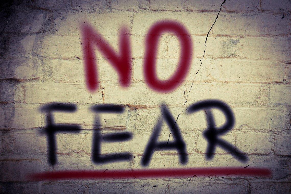 Fear: Run Or Face It Head On?