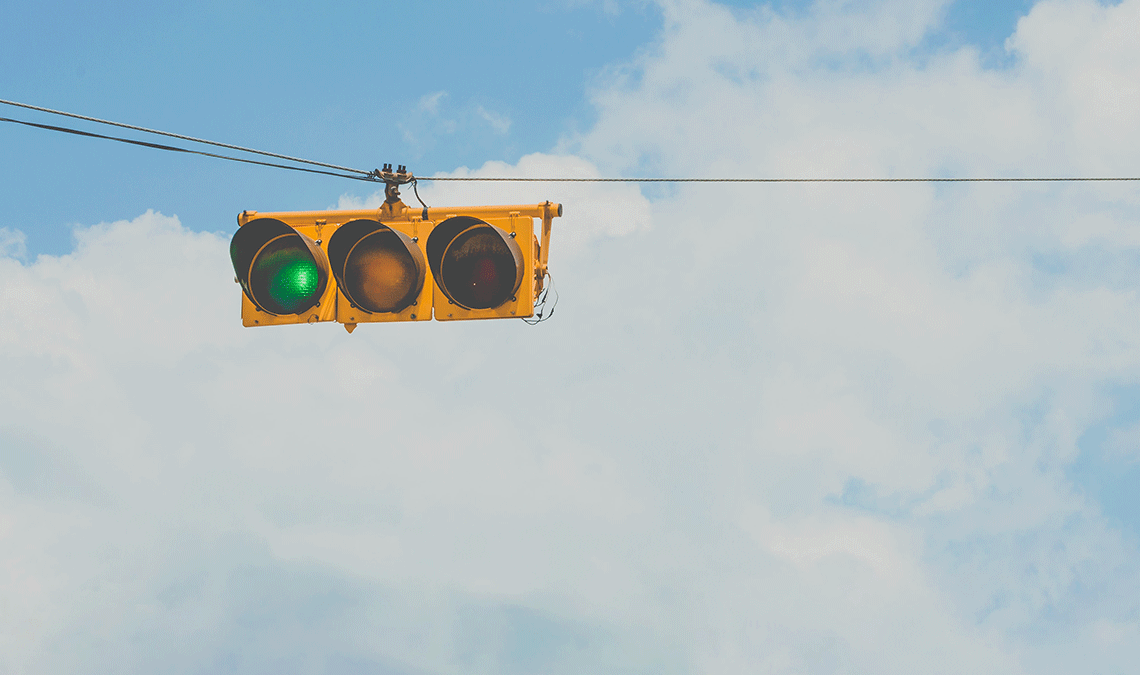 Waiting For A Green Light