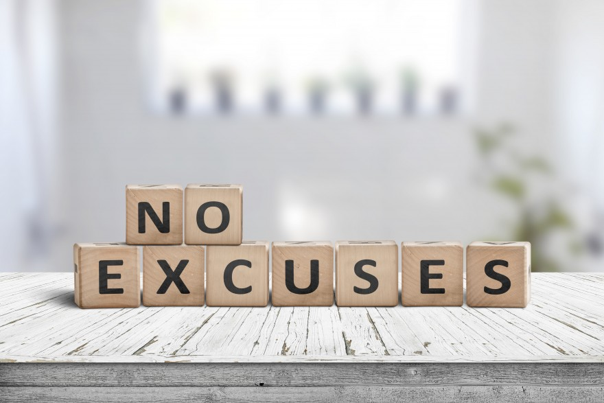 biggest excuse