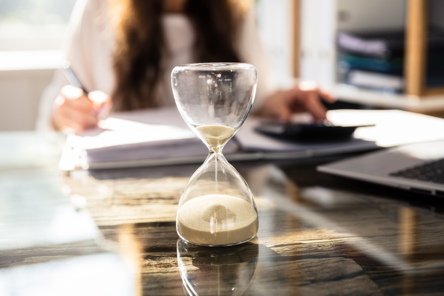 Patience before pitching - Lisa larter
