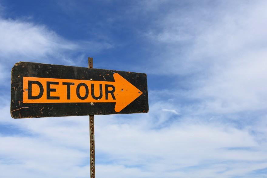 Embrace The Detour - Lisa Larter