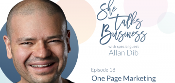 One Page Marketing With Allan Dib